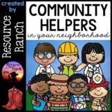 Community Helpers | Posters | Writing | Assessment