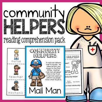 Community Helpers Job Description Pack for Building Fluenc