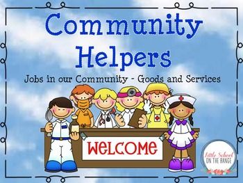 Community Helpers * Jobs in Our Community BUNDLE