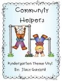 Community Helpers Kindergarten Unit