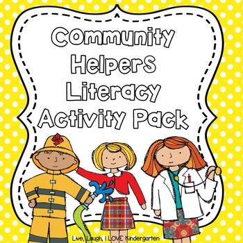 Community Helpers Literacy Activity Pack