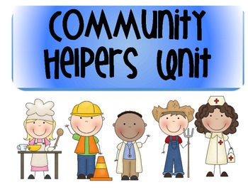 Community Helpers Literacy and Math Pack
