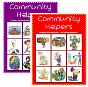 Community Helpers Lotto