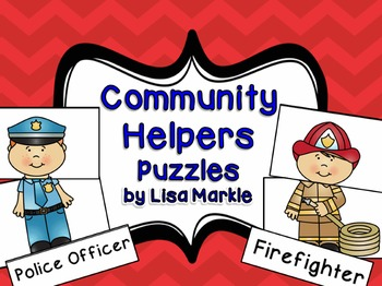 Community Helpers Matching Puzzles