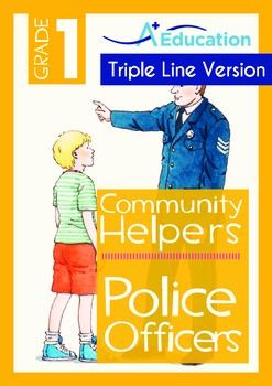Community Helpers - Police Officers (with 'Triple-Track Wr