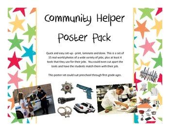 Community Helpers Posters