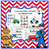 Community Helper's Printable & Alphabet Cards