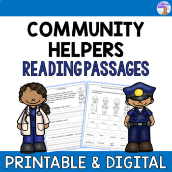 Community Helpers Reading Passages