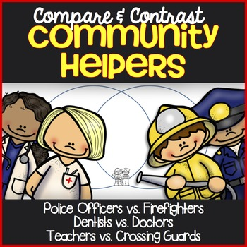 Community Helpers Reading Passages ~ Compare & Contrast