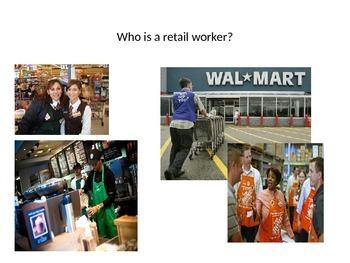 Community Helpers: Retail Workers
