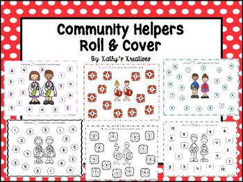 Community Helpers Roll And Cover