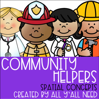 Community Helpers Spatial Concepts