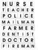 Community Helpers - Special Education - Word Work