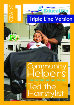 Community Helpers - Ted the Hairstylist  (with 'Triple-Tra