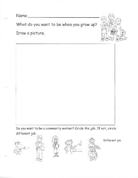 Community Helpers What do you want to be when you grow up