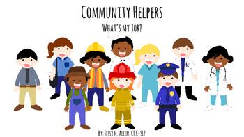 Community Helpers: What's my Job?