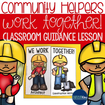 Community Helpers Work Together Career Education Classroom