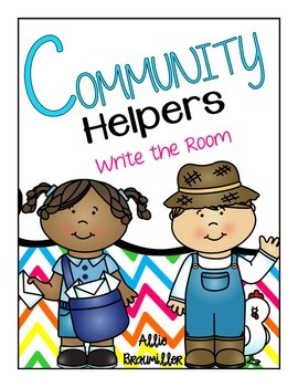 Community Helpers: Write the Room