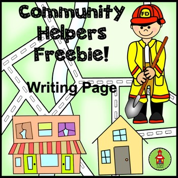 Community Helpers Writing FREEBIE