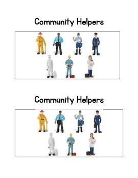 Community Helpers:  an Emergent Readers and comprehension