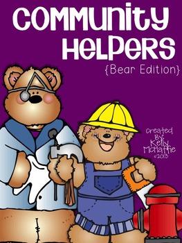 Community Helpers {bear edition}
