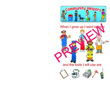 Community Helpers reversed roles and ethnic roles
