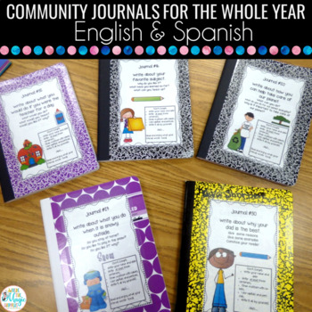 Community Journal Covers and Prompts for the Whole Year Bi