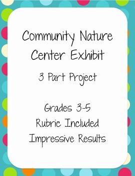 Community Nature Center Exhibit