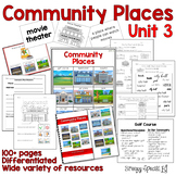 Community Places Mega Unit for Special Education: Unit 3