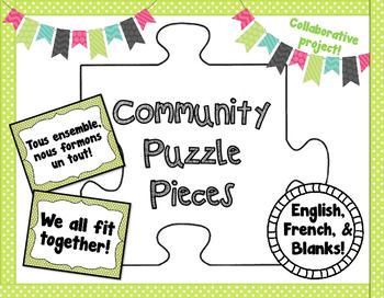 Community Puzzle Pieces - Collaborative Project