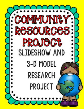 Community Resources Culminating Project