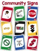 Community Signs Identification Card Game ~ like UNO (Pack #1)