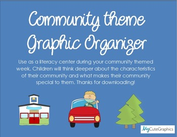 Community Theme Graphic Organizer