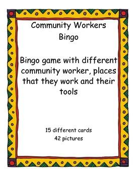 Community Workers Bingo