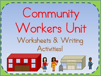 Community Workers Unit: Writing Activities, Passages, and