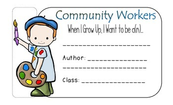 Community Workers Writing Response Books 8.5x14 Size