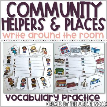 Community Write Around the Room