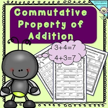 Commutative Property of Addition - Grade One Adding Strate