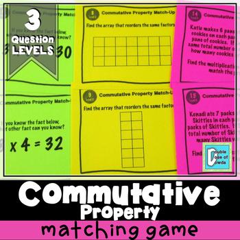 Commutative Property Matching Game