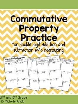 Commutative Property Practice