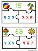 Commutative Property of Multiplication Puzzles 3.OA.5