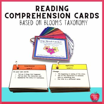 2016: Comp. Quest Cards 1 Reading Comprehension Cards Base