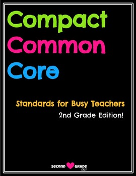Compact CCSS for 2nd Grade