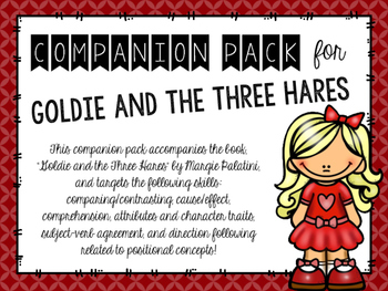 "Companion Pack for ""Goldie and the Three Hares"""