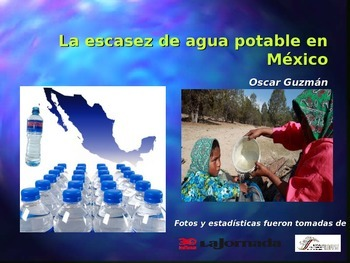 AP Spanish Comparación Cultural: Escasez de agua potable e