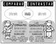 Comparar y Contrastar en español /Compare and Contrast Gra