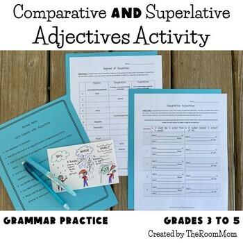 Comparative Adjectives (freebie)