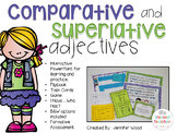 Comparative and Superlative Adjectives Pack