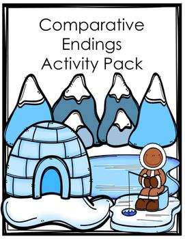 Comparative (er and est) Endings Activity/Worksheet Pack