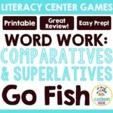 Go Fish: Comparatives (-er, -est)